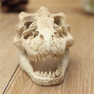 DÉCO VÉGÉTALE - RACINE Aquarium Halloween décoratif en résine Crâne Crawl