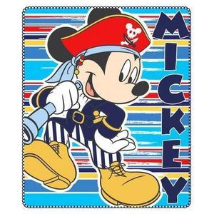 COUVERTURE - PLAID PLAID POLAIRE MICKEY PIRATE