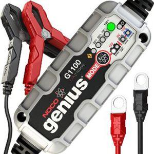 CHARGEUR DE BATTERIE Chargeur de batterie Noco 6 V / 12 V 1,1 A G1100