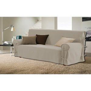 housse de canapé 3 places Housse de canapé Lin   Achat / Vente housse de canape   Cdiscount housse de canapé 3 places
