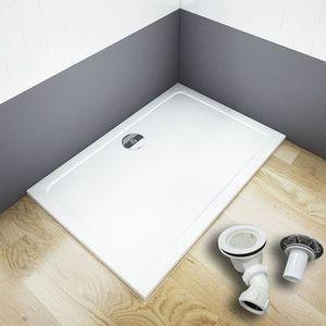 receveur de douche 120x90 achat vente pas cher. Black Bedroom Furniture Sets. Home Design Ideas