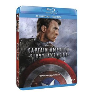BLU-RAY FILM Captain America : The First Avenger [Combo Blu-ray