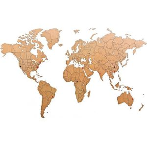 Carte Du Monde En Bois Achat Vente Pas Cher