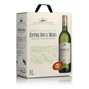 VIN BLANC Entre-Deux-Mers Club des Sommeliers - Vin de Borde