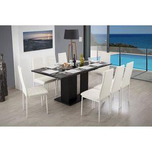 TABLE À MANGER SEULE THEA Table à manger extensible de 4 à 8 personnes