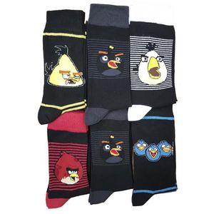 CHAUSSETTES Chaussettes homme Angry Birds Pack de 6 asst1 en c