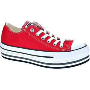 converse basse femme rouge taille 37