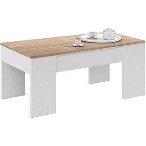 TABLE BASSE Table basse modulable en panneaux de particules co