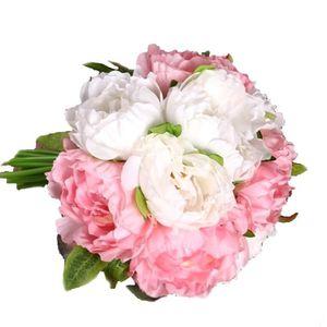 Bouquet pivoine artificielle achat vente bouquet for Bouquet de fleurs pas cher livraison gratuite