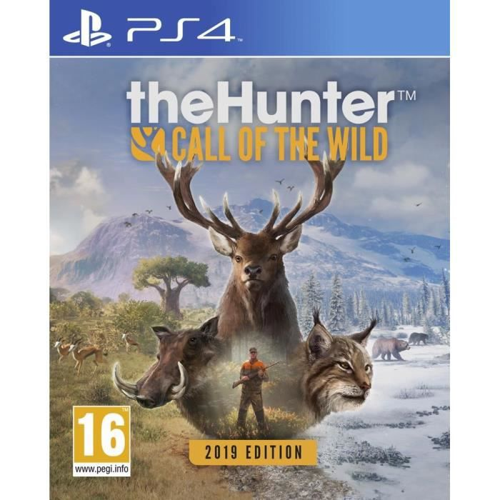 The Hunter Call Of The Wild 2019 Edition Jeu PS4