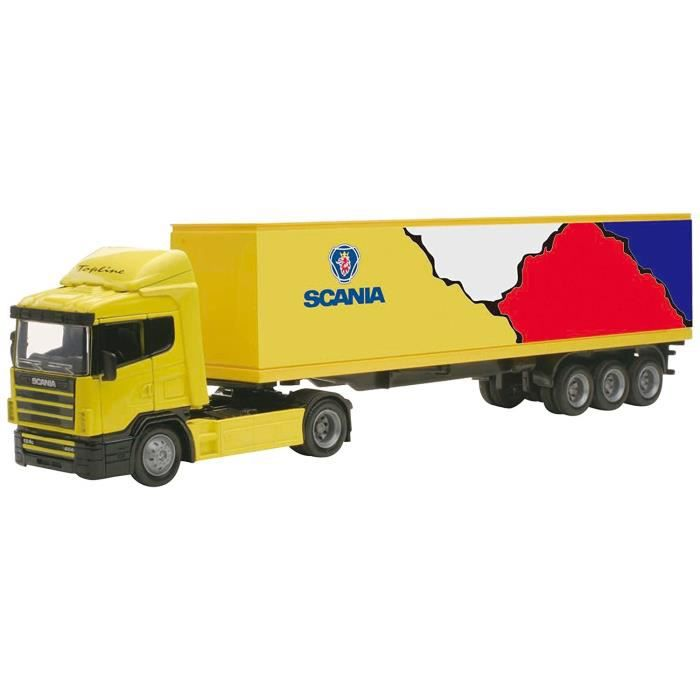 NEW RAY  Camion SCANIA Conteneur - Miniature  - 1/43° - 36 cm