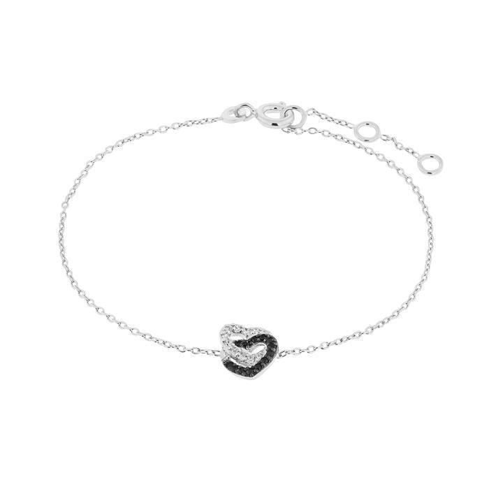 Bracelet CLEOR Argent 925/1000 Oxyde