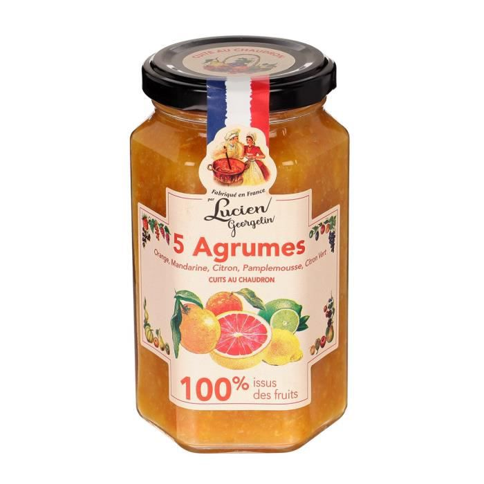 confiture 5 agrumes