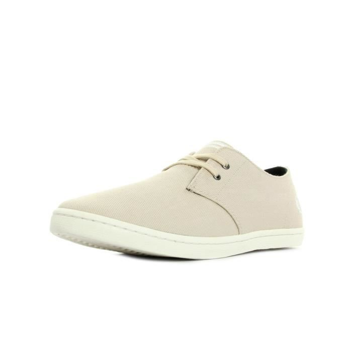 Baskets Fred Perry Byron Low Twill Natural Snow White