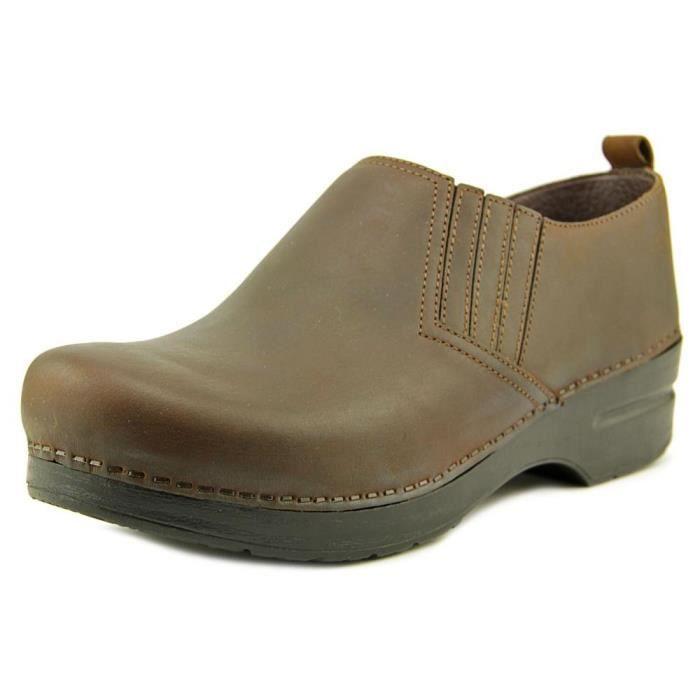 Dansko Chaussures mule anciennes piet antique U85D2 38 ab30T