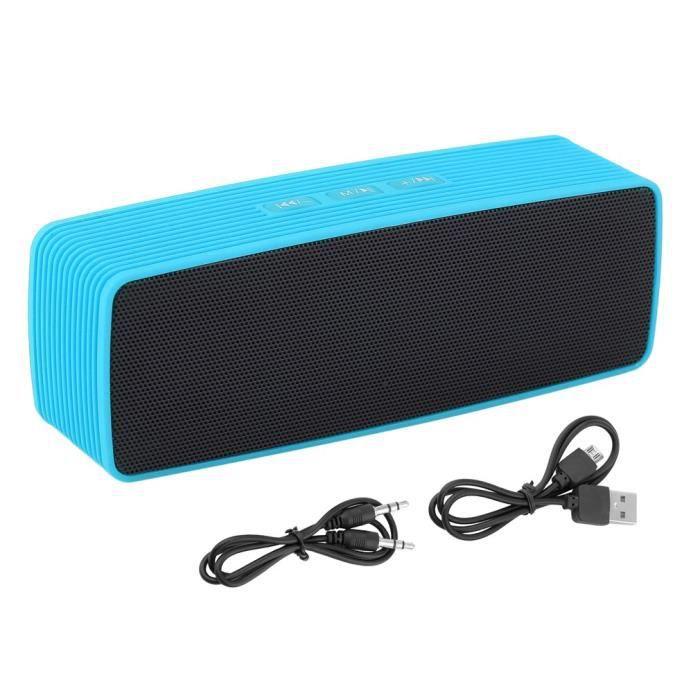 Haut-parleurs Bluetooth Sans Fil Amplificateur Portable Musique Mini Stéréo Son