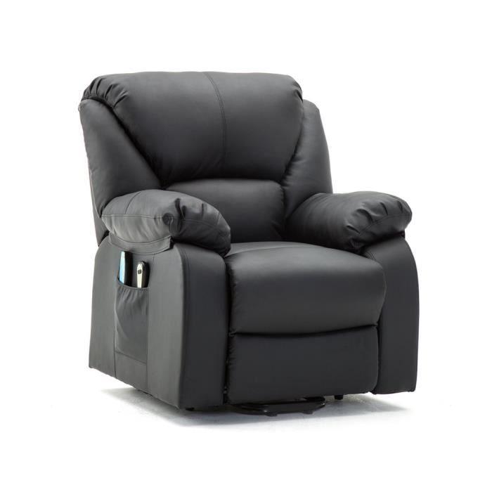 Canapé de Massage électrique confortable Fauteuil inclinable Salon ...