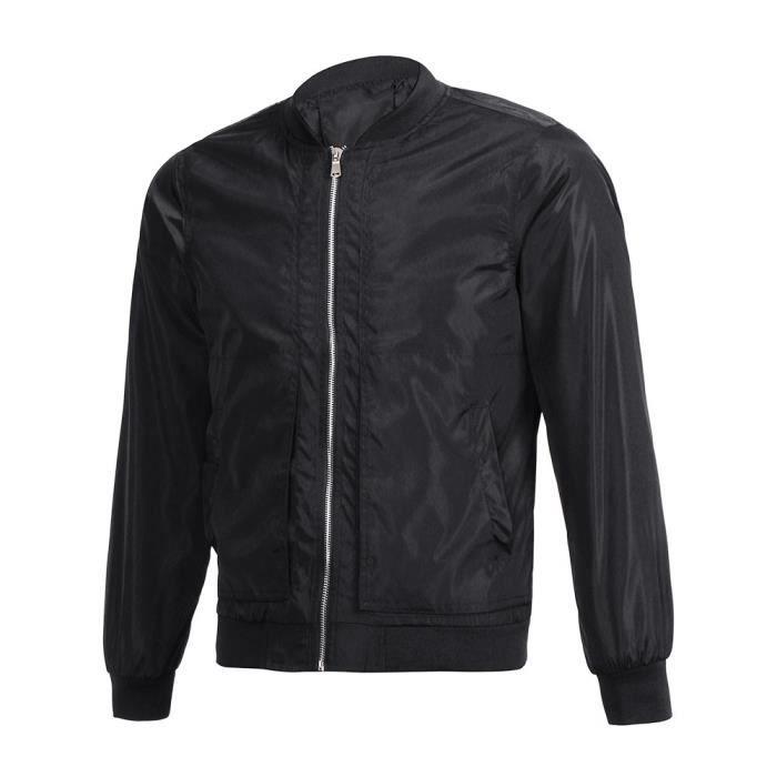 Outwear Hommes Zipper Chemisier Chaud Longues Manches Veste Tops Slim Pardessus Rwei1877 Hiver gFYwxgTqr