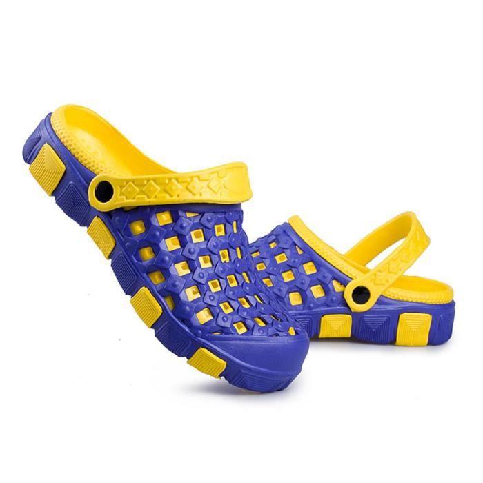Confortable Chaussons Pantoufle Sandales Trou Chaussures Ete Plage fxwIP4qzz