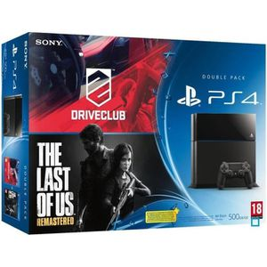 CONSOLE PS4 PS4 + Drive Club + The Last of Us Remastered