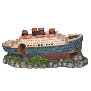 NOBBY Aqua Deco Titanic 265 x 100 x 120mm pour aquarium