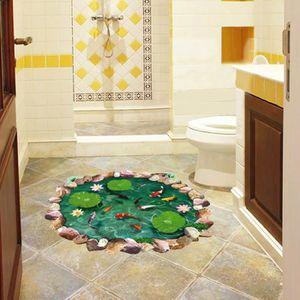 Stickers muraux salle de bain enfant - Achat / Vente pas cher
