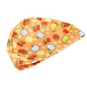 Tricoté Natation beau fruit enfants Caps bébé Bonnet de bain, Orange ... 6fd817e4151