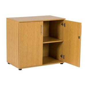 ARMOIRE DE BUREAU MMT SD-IV07 Beech desk extension storage filing ca