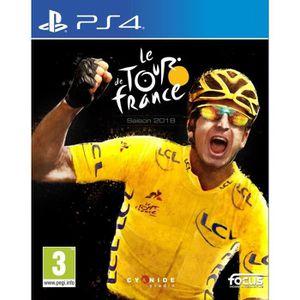 JEU PS4 Tour de France 2018 PS4 + 1 Porte Clé + 1 Led Skin