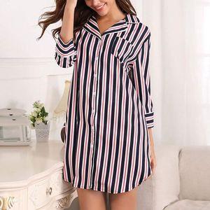 fb874c516f000 Pyjama femme coton - Achat / Vente pas cher - Soldes d'été Cdiscount
