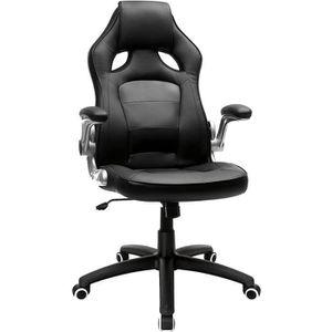 CHAISE DE BUREAU Songmics® Chaise de bureau Fauteuil de bureau haut