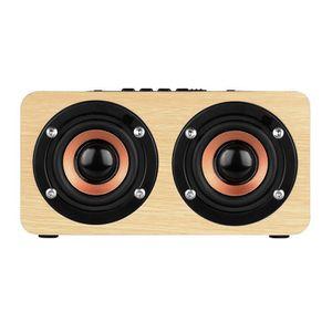 HAUT-PARLEUR - MICRO W5 Haut-parleur Bluetooth  4.2  Dual Subwoofer Sup