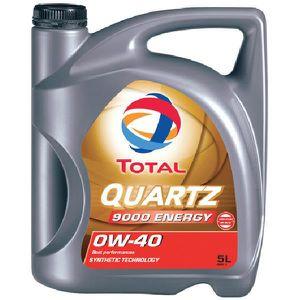 HUILE MOTEUR Huile Moteur Total Total 0W40 Quartz 9000 Energy 5