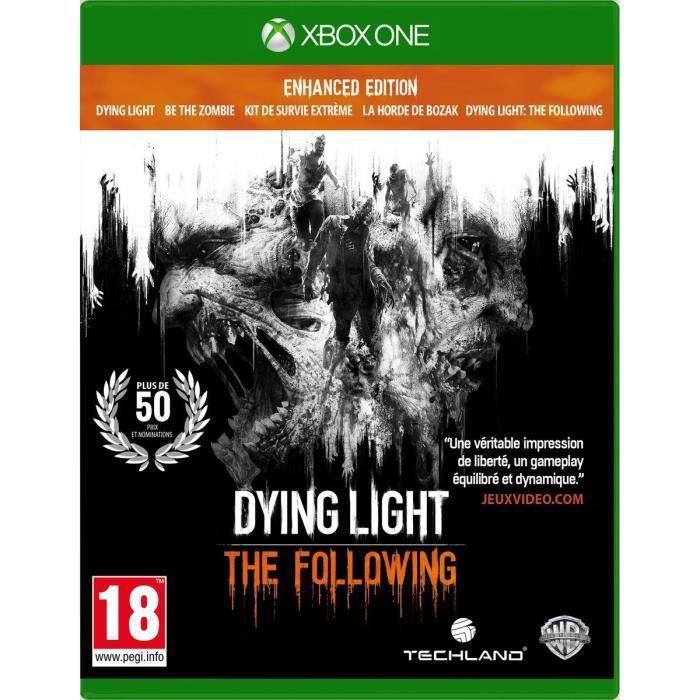 JEU XBOX ONE Dying Light: The Following - Enhanced Edition Jeu