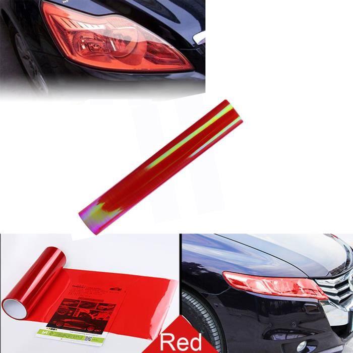 Lampe de phare de brouillard de voiture Protégez la feuille de vinyle d'enveloppe de film de couverture pour toute la voiture