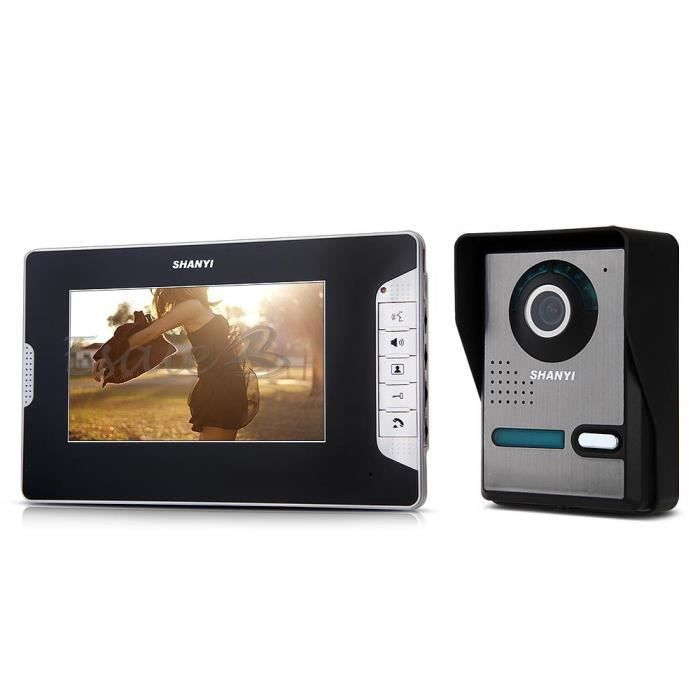 sonnette sans fil avec camera - achat / vente sonnette sans fil