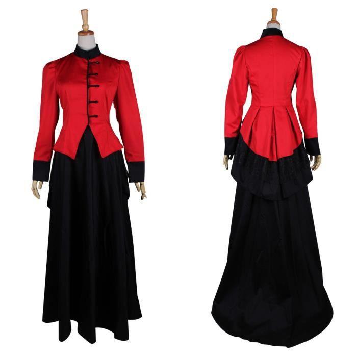 3caf933b830 Déguisement élégant Robe Gothique Médiévale Renaissance Robe de Mariee  Adulte
