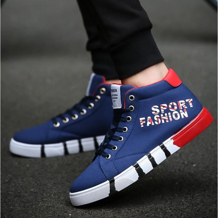Basket Skate Homme Homme Chaussure montantes Mode Shoes chaussures q1PZw4an