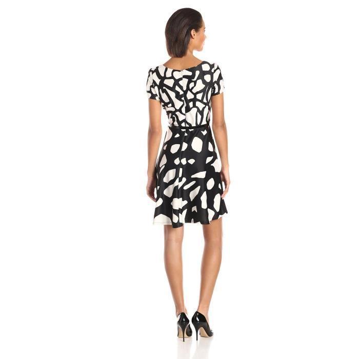S.l. Fashions Robe imprimée imprimée en polyester pour femme RG59U