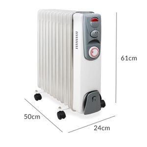 radiateur a bain d huile achat vente radiateur a bain d huile pas cher cdiscount. Black Bedroom Furniture Sets. Home Design Ideas