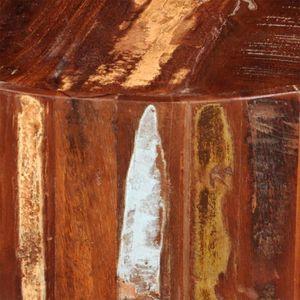 TABLE BASSE R64 La table basse en bois massif recycle exotique