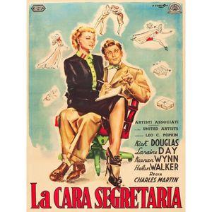 AFFICHE - POSTER MA CHERE SECRETAIRE reproduction affiche de cinéma