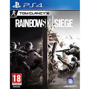 JEU PS4 Rainbow Six Siege PS4