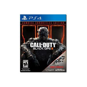 JEU PS4 Call of Duty Black Ops III Zombies Chronicles Edit