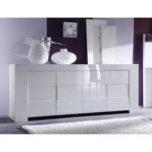 BUFFET - BAHUT  Buffet-Bahut Design LAILA - L 210 x P 50 x H 84 cm