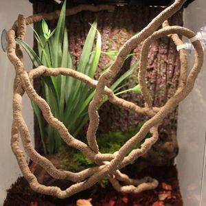 DÉCO ARTIFICIELLE 180cm artificielle Jungle Vine Bendable Reptile Te