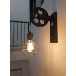Bauhaus Wandleuchte Ø20cm in Nickel E14 Leuchte Wand Schalter Wandlampe innen