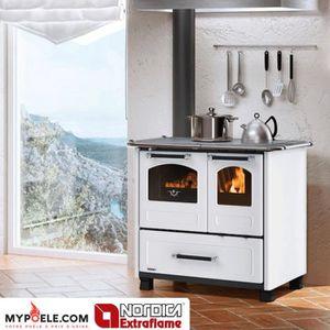 POÊLE À BOIS Cuisinière à bois LA NORDICA - Family 4,5 11,8kw -