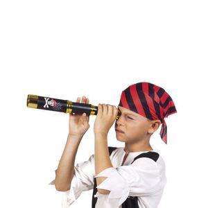 ACCESSOIRE DÉGUISEMENT Longue vue de pirate noir 32 cm enfant - 232515 (T