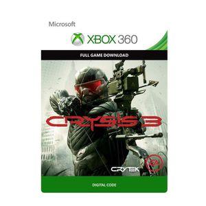 JEU XBOX 360 À TÉLÉCHARGER Crysis 3 Jeu Xbox 360 à télécharger
